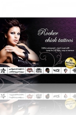 Tatouages Rocker Chick : Rocker Chick Tattoos: 36 tatouages exclusifs pour jouer aux Groupies enflammées.