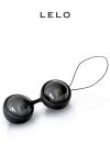 Loveballs Luna Beads Noir - Boules de geisha premium, par Lelo, pour le fitness et les plaisirs Sensuels.