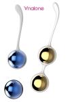 Sphères de Kegel Yany - Boules  de Geisha Luxe en métal, pour le plaisir des sens ou la musculation de la région pelvienne.