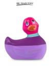 Mini canard vibrant Colors rose - Déclinaison à tête rose du célèbre canard vibrant dans la collection Colors. I Rub My Duckie est désormais en version 2.0.