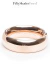 Cockring métal - Fifty Shades Freed - Somptueux anneau de pénis en acier inoxydable pour une érection plus vigoureuse et qui dure plus longtemps.