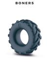 Anneau de pénis pneu - Boners - Un cock ring confortable en forme de pneu de 4x4 pour améliorer votre érection et qu'elle dure plus longtemps.