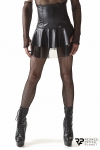 Jupe noire taille haute - Regnes - Jupe taille haute destinée aux hommes souhaitant explorer de nouvelles idées d'eux-mêmes.