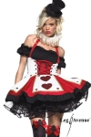 Costume Pretty playing Card
