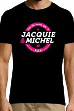 T-shirt Jacquie & Michel n°4 : Le Tee-shirt exclusif (visuel 4) à l'effigie de  Jacquie & Michel, votre site amateur préféré.