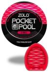Zolo 8-Ball - Masturbateur de poche Pocket Pool ™  8-Ball de marque Zolo, avec texture formée de nervures profondes.