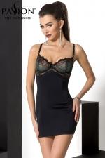 Combinaison Floris : Robe sexy d'intérieur, ou combinaison de charme à porter sous une robe, le 2 en 1 au top de la lingerie féminine.
