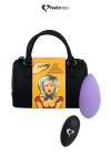 Stimulateur télécommandé Panty Vibe violet - FeelzToys - Présenté dans un superbe mini sac à main, Feelztoys vous propose un stimulateur clitoridien télécommandé très puissant.
