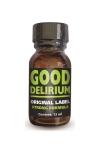 Poppers Good Délirium - Good Délirium est un poppers aux effets intenses, à base d'isopropyle, en flacon concentré de 13ml.