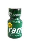 Poppers Ram 9 ml - Le célèbre poppers Ram et son flacon vert! Un poppers puissant et pur à base d'isopropyle.