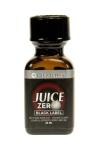 Poppers Juice Zero Black Label 24 ml - Un poppers hybride très puissant contenant à la fois de l'Amyle et du Propyle, avec flacon Méga Pellet et bouchon sécurisé.