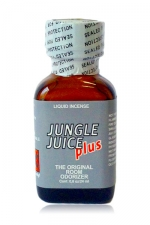 Poppers Jungle Juice Plus 24 ml : Une déclinaison puissante de l'arôme liquide aphrodisiaque original, au nitrite de Propyle.