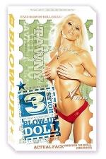 Poup�e gonflable Tawny VIVID : Poup�e gonflable fine et sexy Tawny, 3 orifices, Vivid collection chez Doc Johnson.