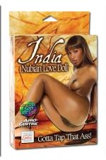 India Nubian Love Doll : Superbe poup�e noire � honorer par tous les orifices.