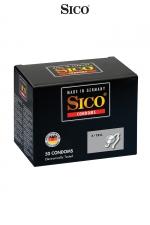 50 préservatifs Sico X-TRA : 50 préservatifs de très haute qualité offrant une épaisseur élevée, associant sécurité et intensité des sensations.