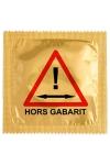 Préservatif humour - Hors Gabarit